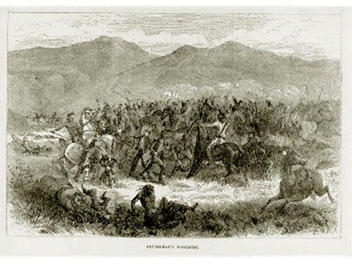 fetterman massacre The fetterman massacre was an ambush and the total annihilation of a us army  force during red cloud's war sand creek was the massacre of unarmed.